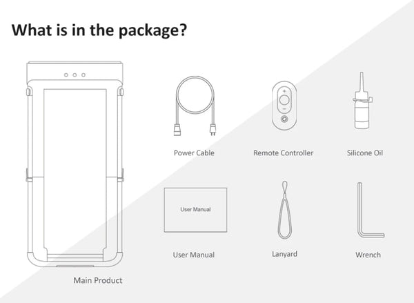 what's included in Walking Pad