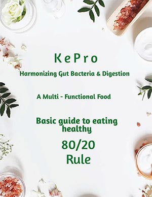 Basic Guide to Healthy Eating The 80 20 Rule eBook