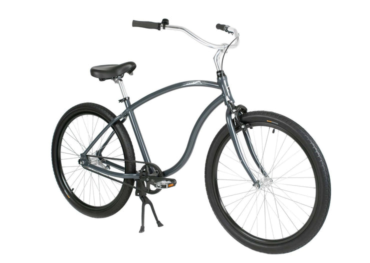 Cypre Bikes Diamond Frame beach cruiser in dark grey