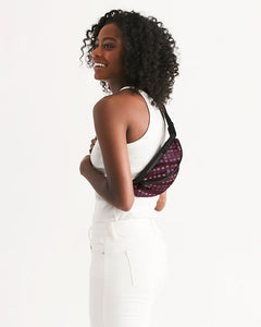 Shibori Burgundy Crossbody Sling Bag