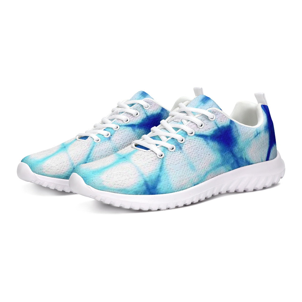 Blue Honeycomb Athletic Shoe