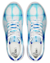 Load image into Gallery viewer, Blue Honeycomb Athletic Shoe
