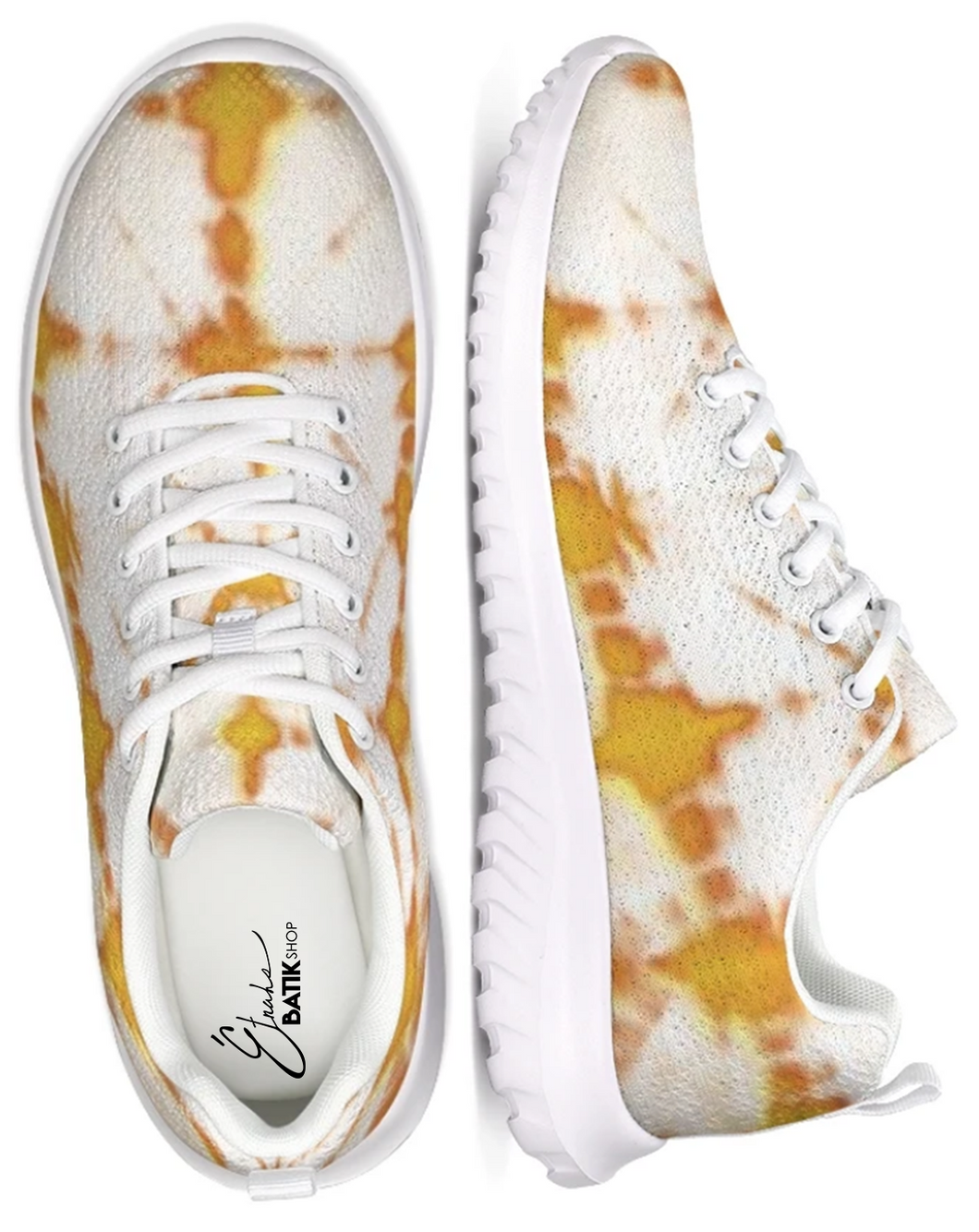 Honey Yellow Athletic Sneakers