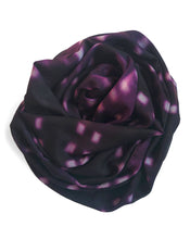 Load image into Gallery viewer, Shibori Burgundy Scarf