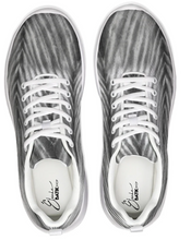 Load image into Gallery viewer, Grey Shibori Striped Athletic Sneakers