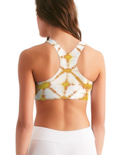 Load image into Gallery viewer, Honey Yellow Seamless Sports Bra