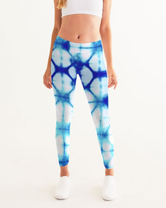 Blue Honeycomb Yoga Pant