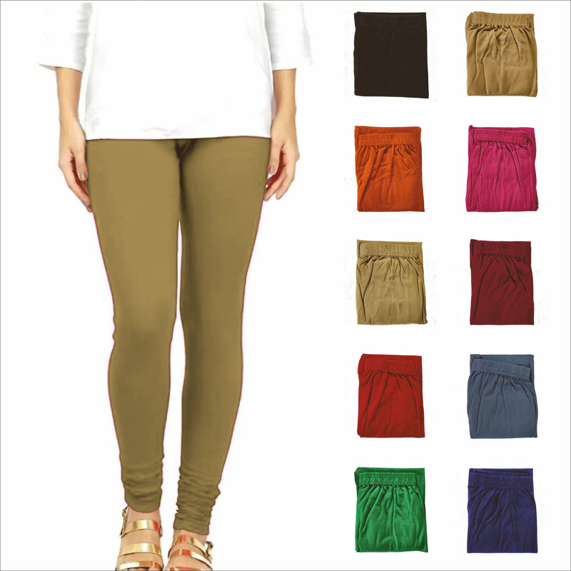 ca1001v01, Single Colour Full Length 2 Way Lycra Leggings