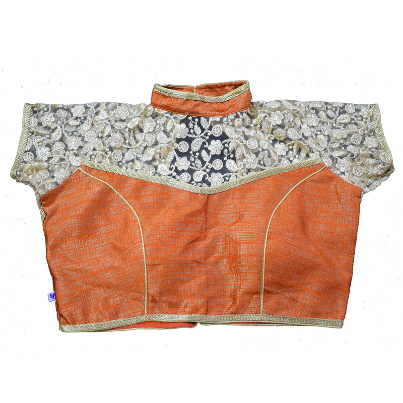 ln0104v02, Khadi Cotton Padded Blouse