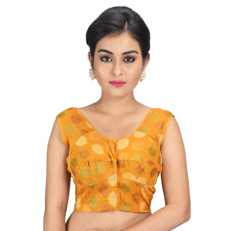 ln0237v06, Cotton Chanderi Blouse