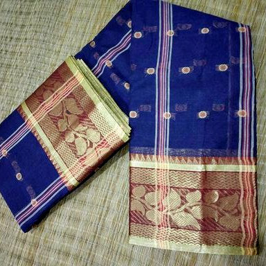 Bengal Cotton Tant Saree without Blouse piece