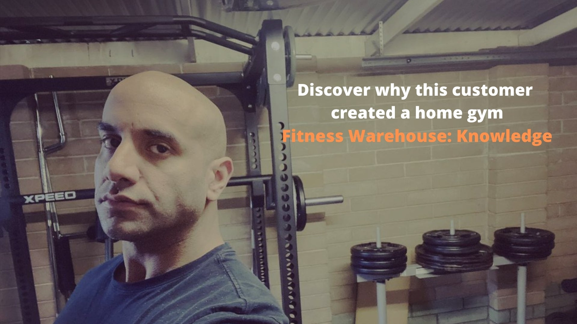 Why this customer decided to build their home gym