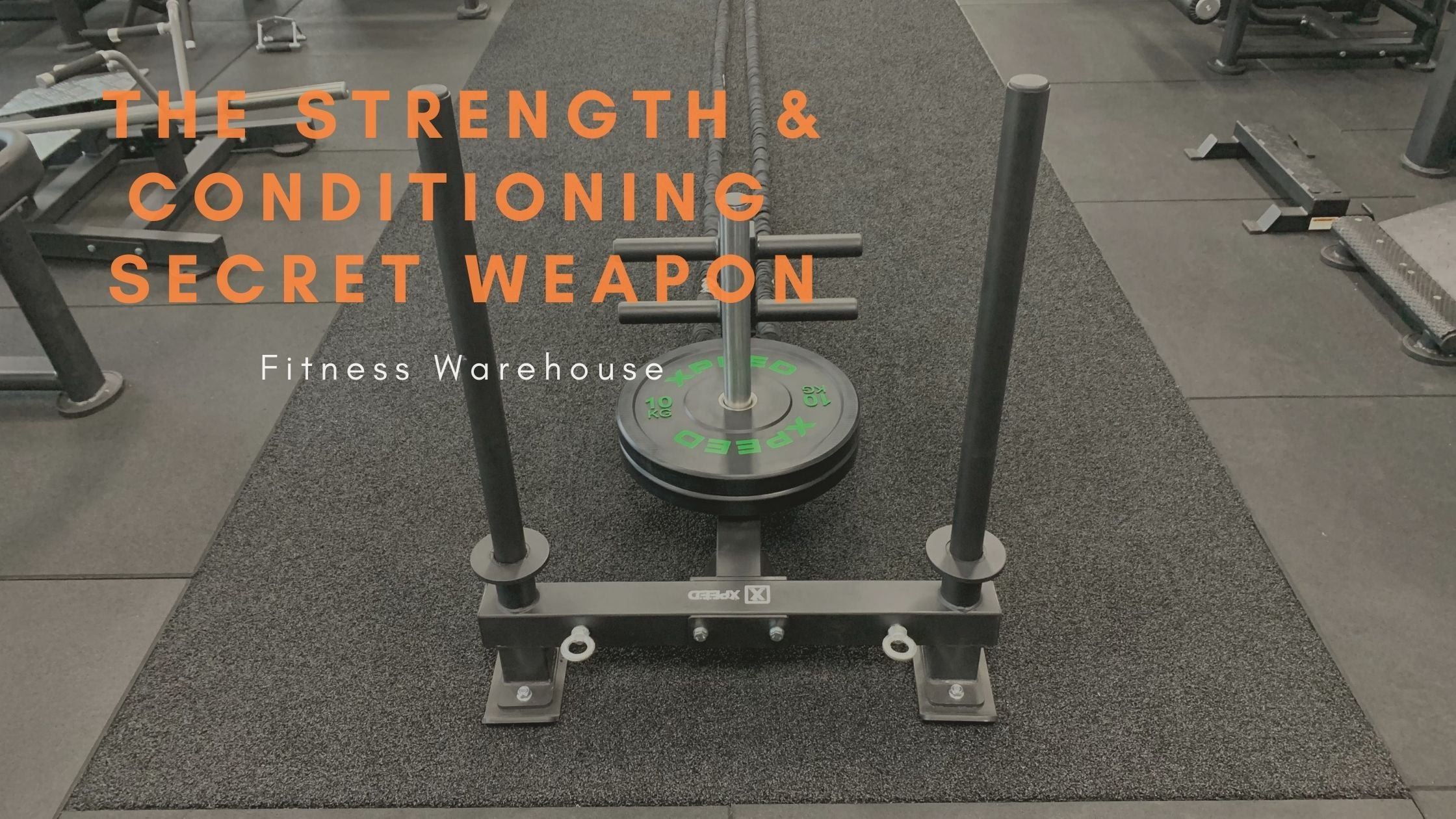 The Prowler Sled. Your Strength & Conditioning Coach's Secret Weapon