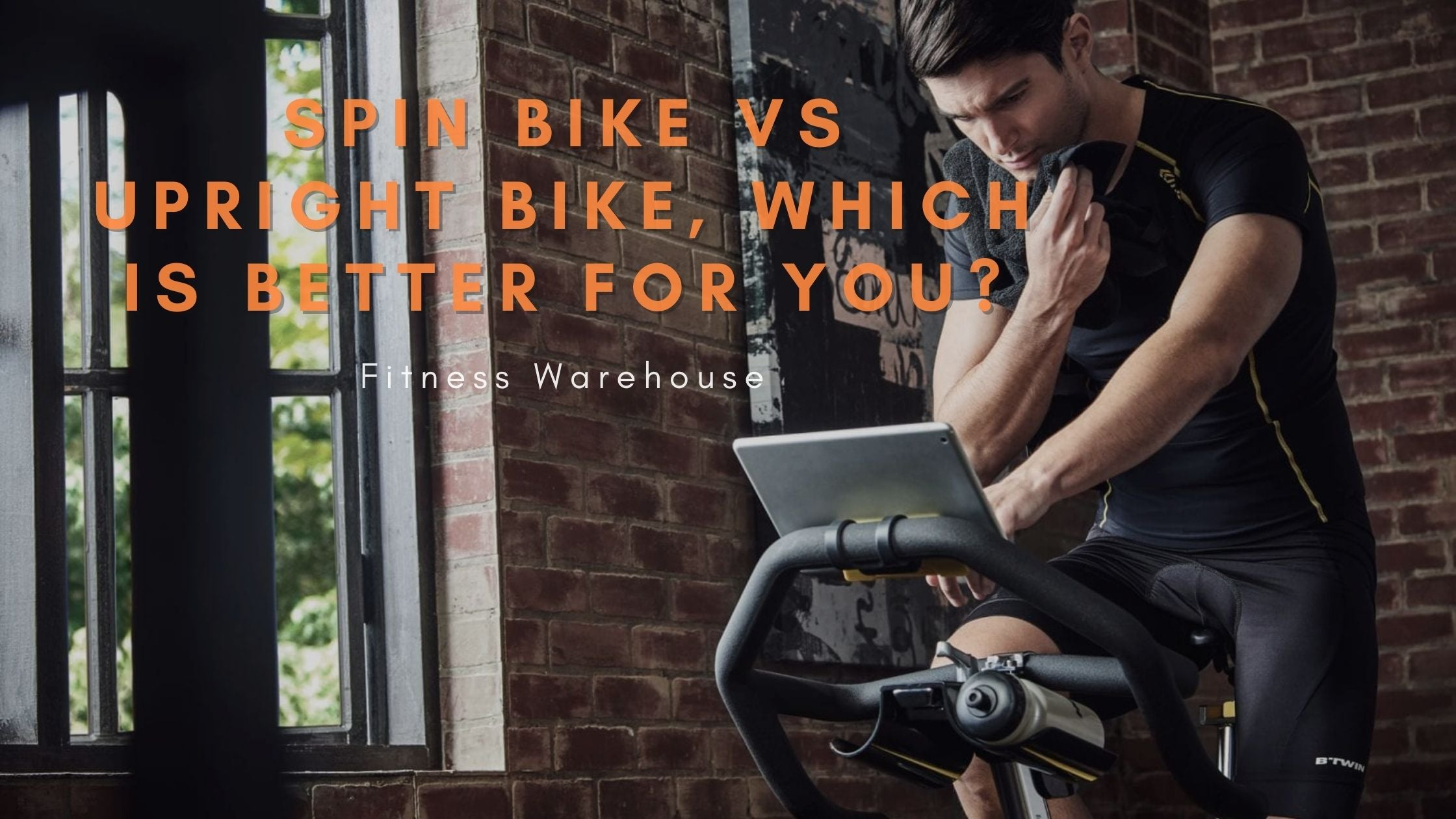 Upright Bikes Vs Spin Bikes - Which is better for you?