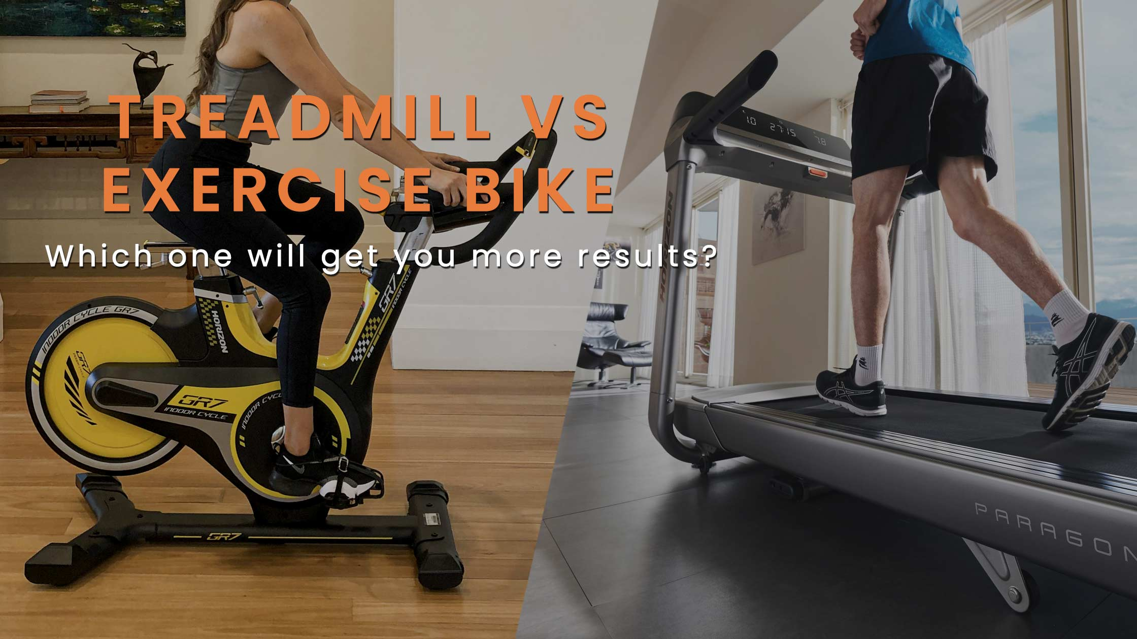 Treadmill vs Exercise Bike - Which one will get you more results?