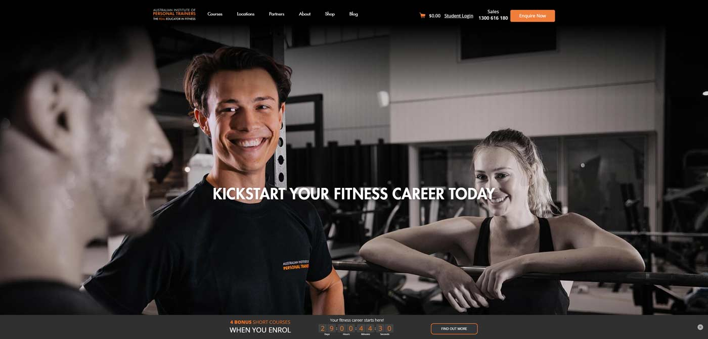 australian insitute of personal trainers website