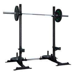 Xpeed Heavy Duty Adjustable Squat Stands