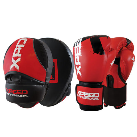 Xpeed Professional Combo Set Focus pad & Mitt