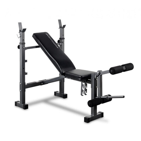 Bodyworx C340STB Basic Bench With Adjustable Posts & Leg Developer
