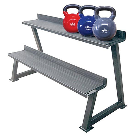 Xpeed Kettle Bell Rack (2 Tier)