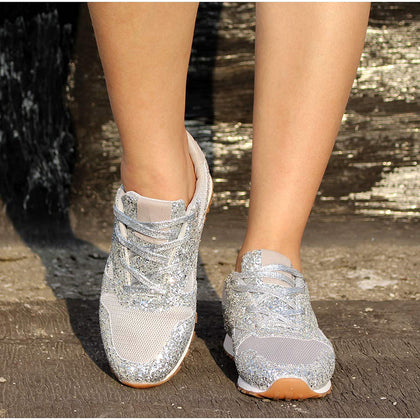 Sparklywalk Chic Sparkle Sneakers