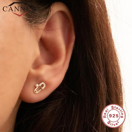 Sparkleshell Designer Stud Earrings