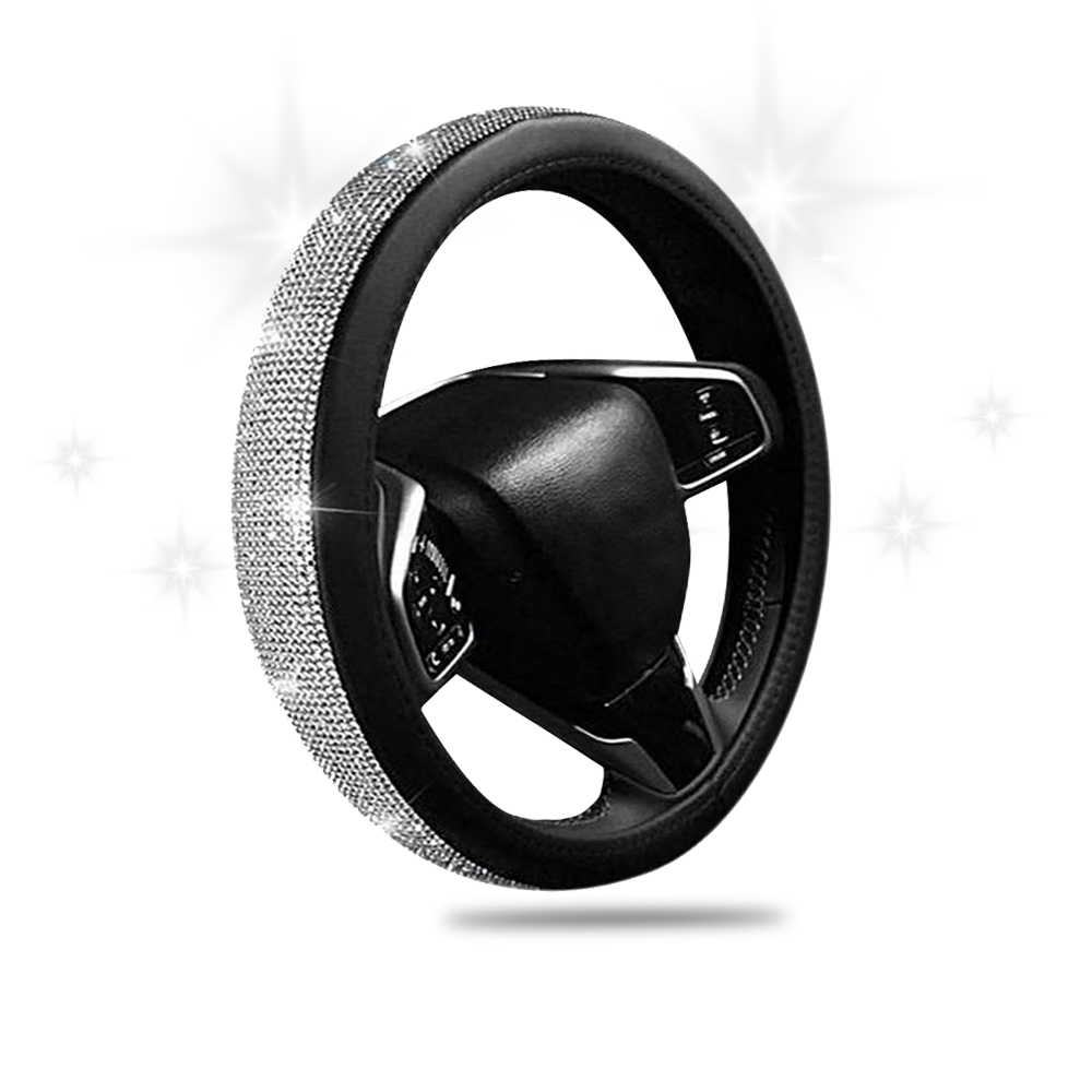 SWAROVSKI CRYSTAL STEERING WHEEL COVER