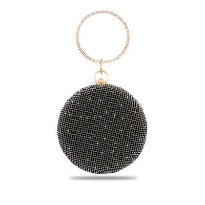 Carrysparks Round Glitz Bag