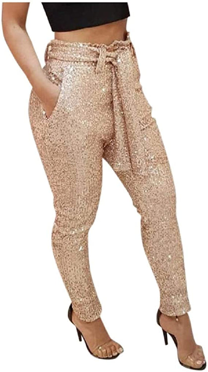 Sparklybuttoms Shiny Harem Pants