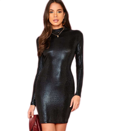 Bodysparks Glamorous Embossed Dress