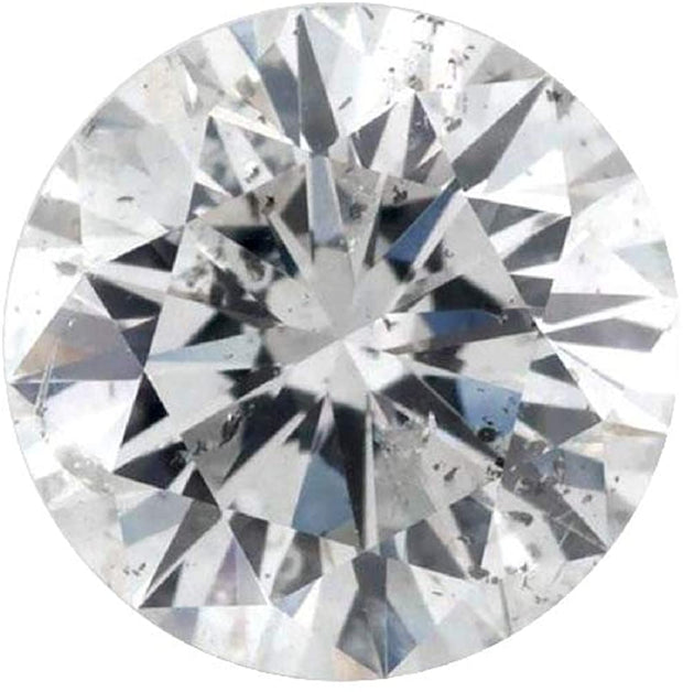 Natural Loose 1.01 Carat H-I I2 Round Brilliant Diamond Engagement Closeout