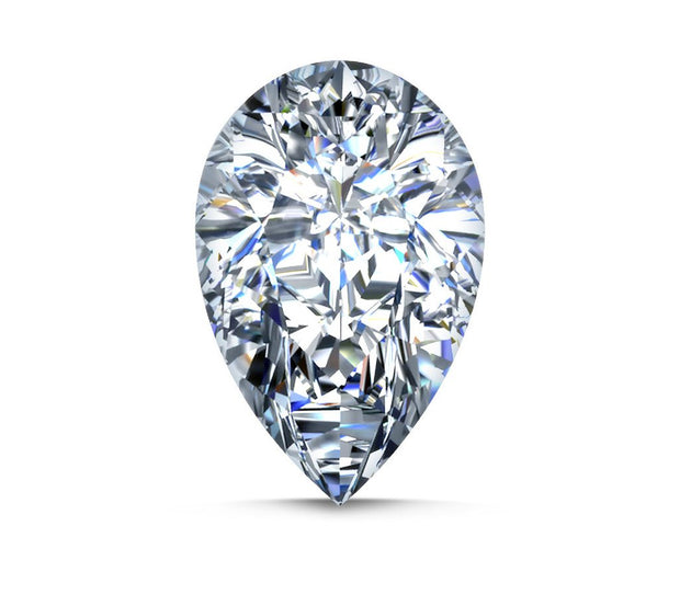 Natural Loose Diamond 0.75 Carat G SI Pear Shape Engagement Closeouts