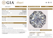 GIA Certified 1.13 Carat Octagonal Cut Diamond Engagement Closeouts