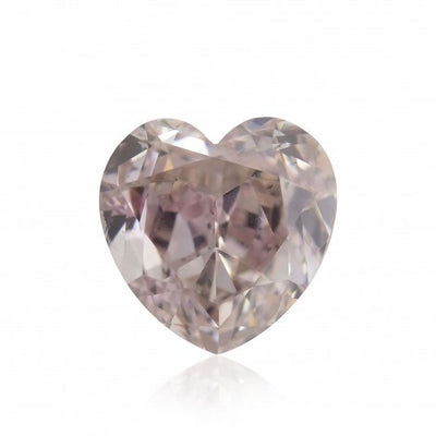 GIA Certified 0.25CT Fancy Pink Heart Shape Diamond Closeouts