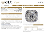 GIA Certified 1.07CT Cushion K I1 Diamond