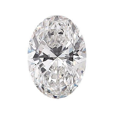 GIA Certified 0.89CT Oval Cut Natural Loose Diamond Engagement Closeouts