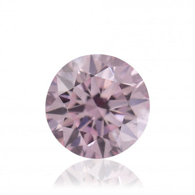 GIA Certified 0.23CT Light Pink Old European Diamond