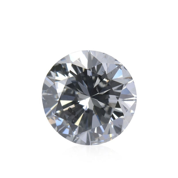 GIA Certified 0.62CT Round Brilliant Fancy Grey Diamond