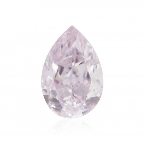 GIA Certified 0.24CT Pear Shape Faint Pink Diamond