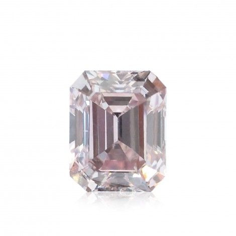 GIA Certified 0.30CT Fancy Pink SI2 Round Brilliant Diamond
