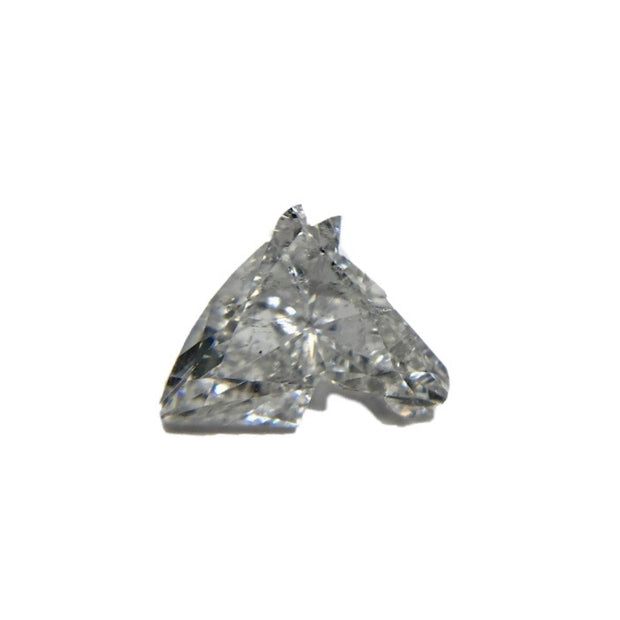 Rare 1.28 Carat F I1 Horse Head Natural Loose Diamond