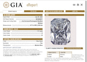 GIA Certified 1.11CT H I3 Radiant Cut Diamond Closeouts