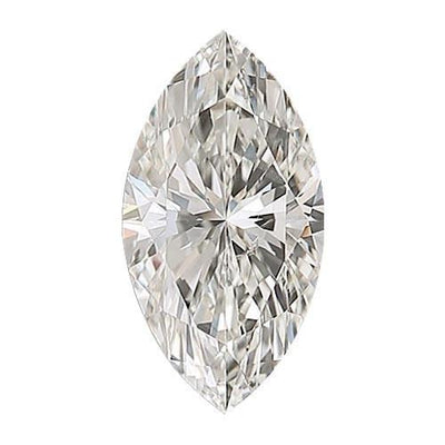 GIA Certified 0.62CT J SI1 Marquise Diamond