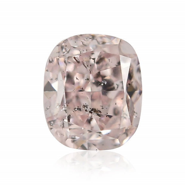GIA Certified 0.25CT Fancy Pink Cushion Cut Diamond Closeouts