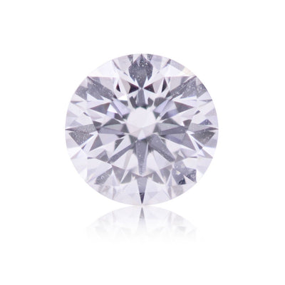 GIA Certified 0.34CT Fancy Pink SI2 Round Brilliant Diamond Closeouts