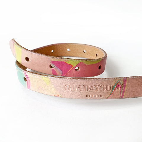 Marbled Colorful Strap