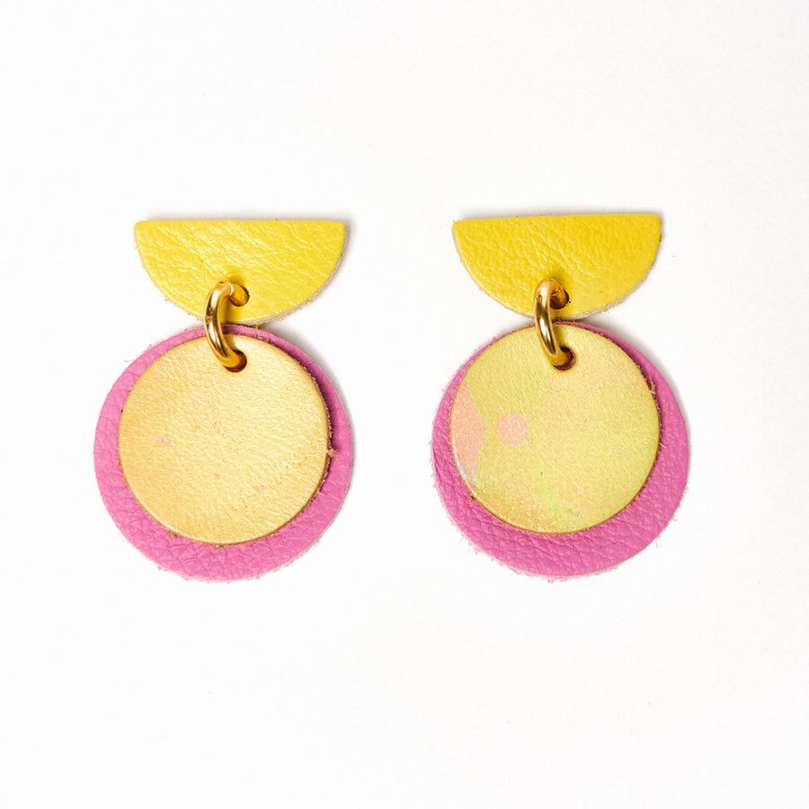 Circle Up Earrings