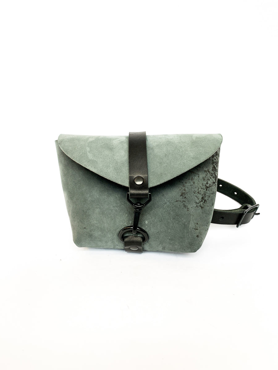 Limited Edition Italian Ghost Leather Fanny Pack