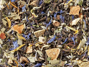 Lavender Twist: ORGANIC Black Tea Blend (Lavender/Lime/Mint)