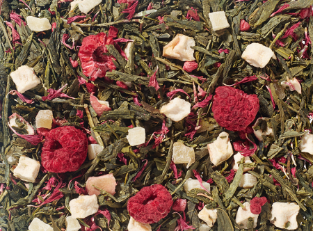 Raspberry Cream: Green Tea Blend (Raspberry/Pineapple)
